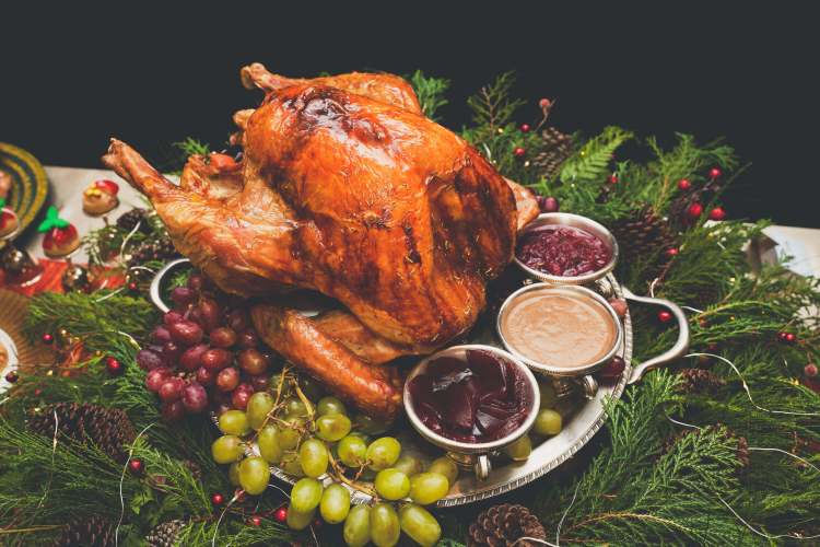 Roast turkey Cafe Marco