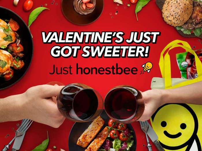 honestbee Valentine's Day