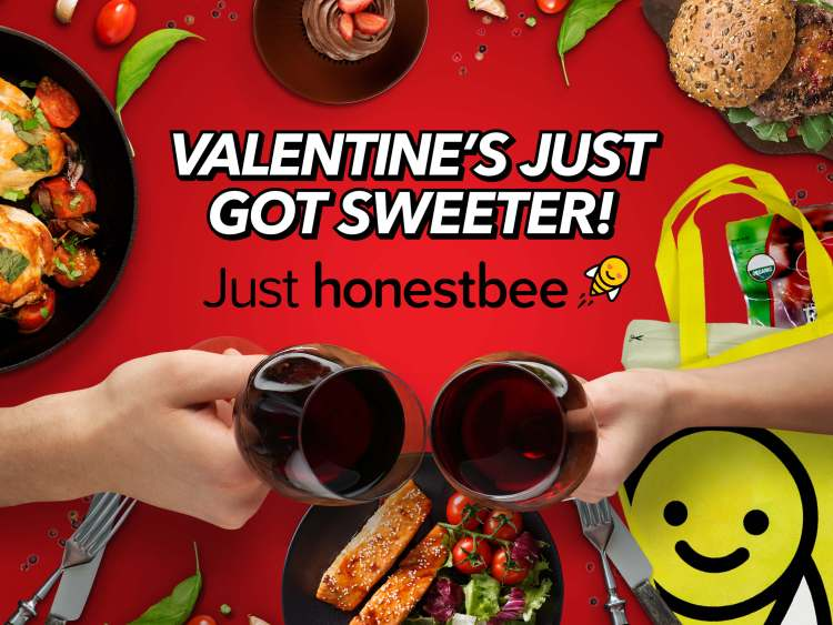 honestbee Valentine's Day