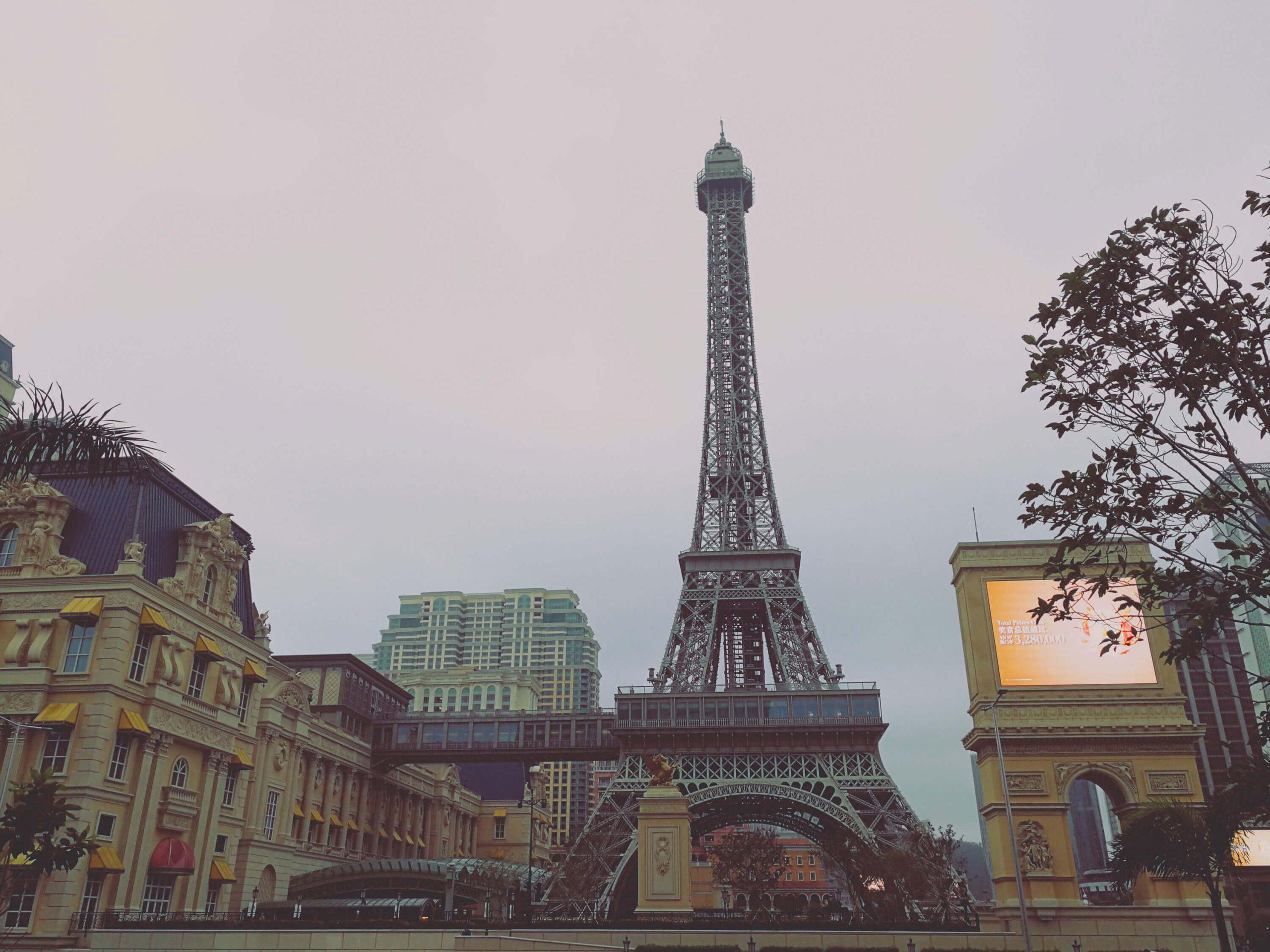 Macau Parisian Eiffel Tower
