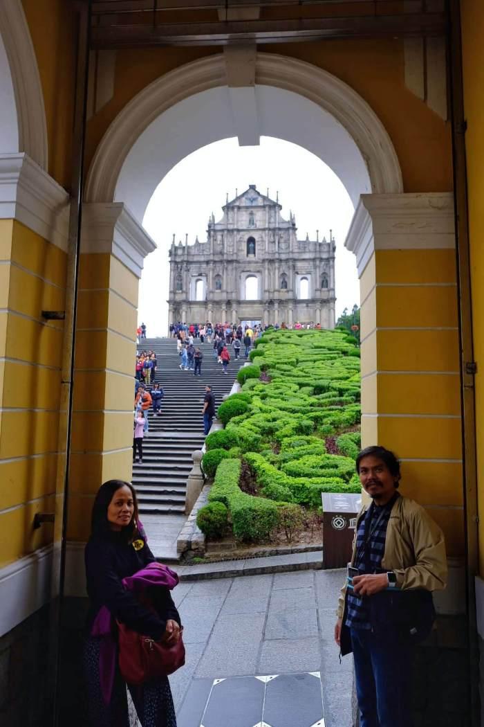 Ruins of St. Paul in Macau