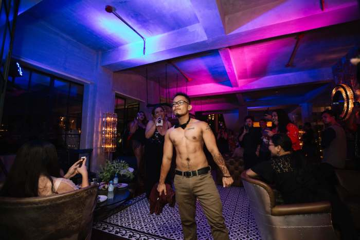 CHOI walks for House of Masculinity's Body category, proudly representing the transman association.