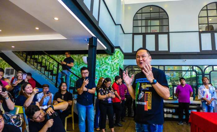 NEW OWNER, SAME LECHON QUALITY, TASTE. Meat Concepts Corporation President George N. Pua said in yesterday's media preview that Rico's Lechon has changed ownership but the quality and taste of its roasted pigs remain the same.
