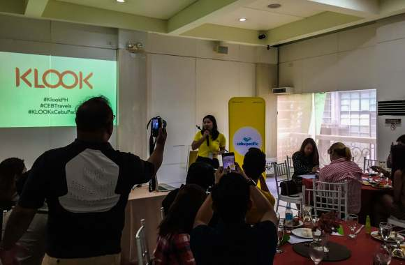 EXCLUSIVE SALE. Cebu Pacific Corporate Communications Specialist Michelle Lim says the airline will be holding an exclusive sale during the event.
