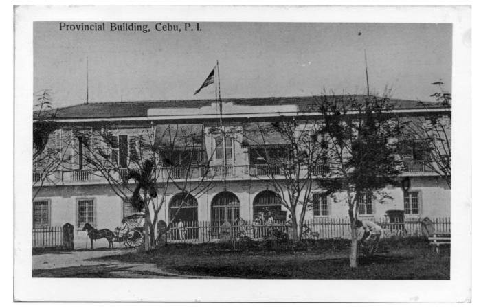 Another view of the Casa Provincial. (Photo from the Medalle Collection and used with permission of the Cebuano Studies Center of the University of San Carlos.)