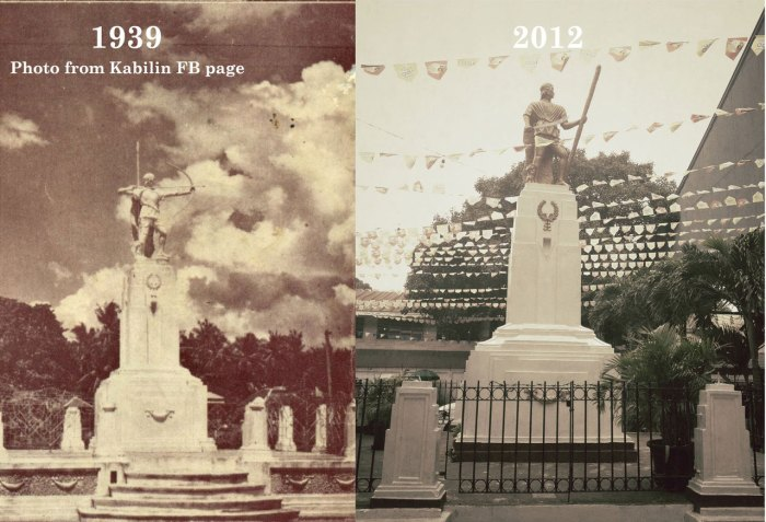 Lapulapu statue then and now.