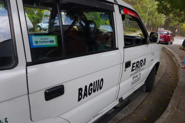 PayMaya has already empowered taxi drivers and other PUVs like the ones in Baguio (in photo) during the Panagbenga Festival 2019 to accept cashless payments from commuters using their PayMaya app.