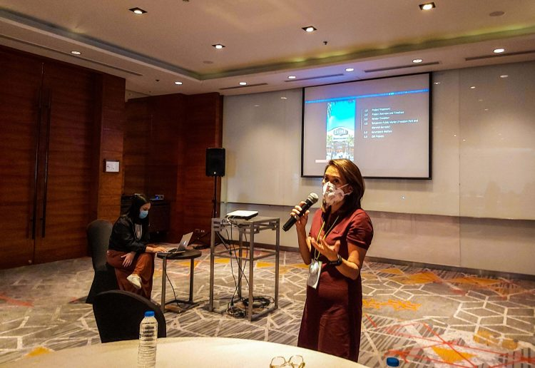 """Megawide Commercial Sector Head Ma. Christina """"Teng"""" Angan gives a preview of the project."""