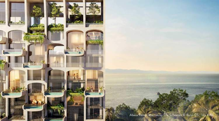 Set to be completed in 2024, the new Abaca Resort Mactan is CLI's very first resort development and will feature a timeless Sky Villas concept to serve as the platform for memorable getaways. The photo above is a perspective of Büro Ole Scheeren's architecture and innovative design of the re-imagined luxury resort to open in 2024.