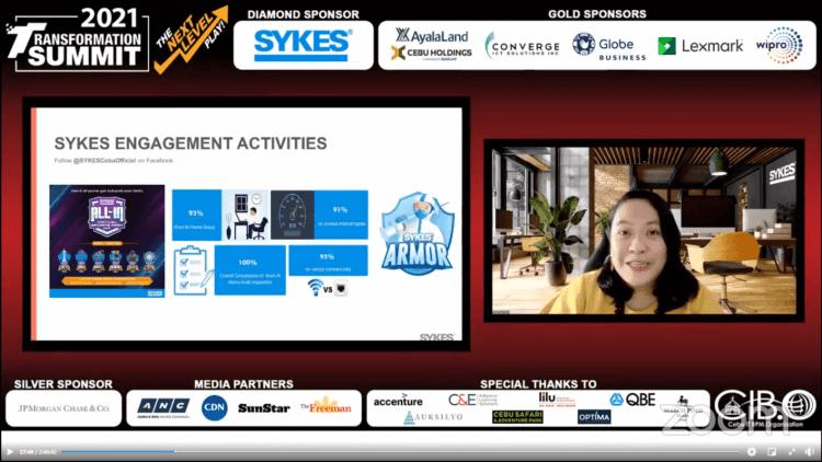 Sykes Asia, Inc. Senior Director Jethsel Salado
