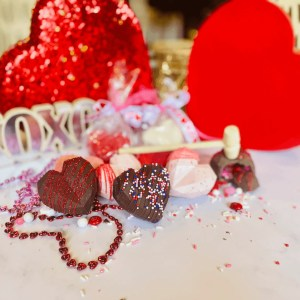 Valentines Day Chocolate Smash Heart