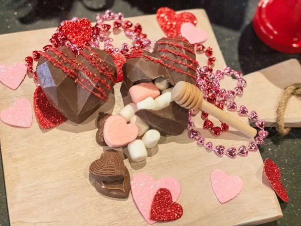 Valentines Treats: Chocolate Smash Heart