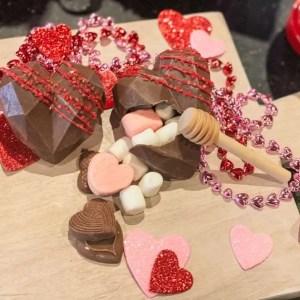 Valentines Treats: Chocolate Smash Heart