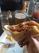 BLT Crepe? (Bacon, Arugula, Tomato, & Goat Cheese) - DIVINE