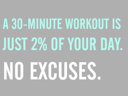 30 minute workout 2% of day