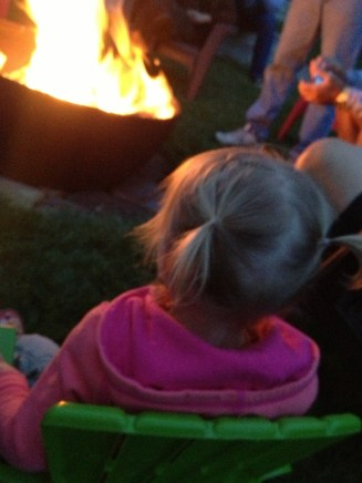 Her 1st campfire