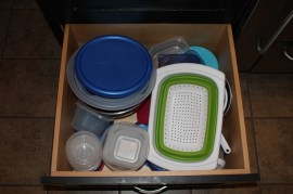 tupperware drawer
