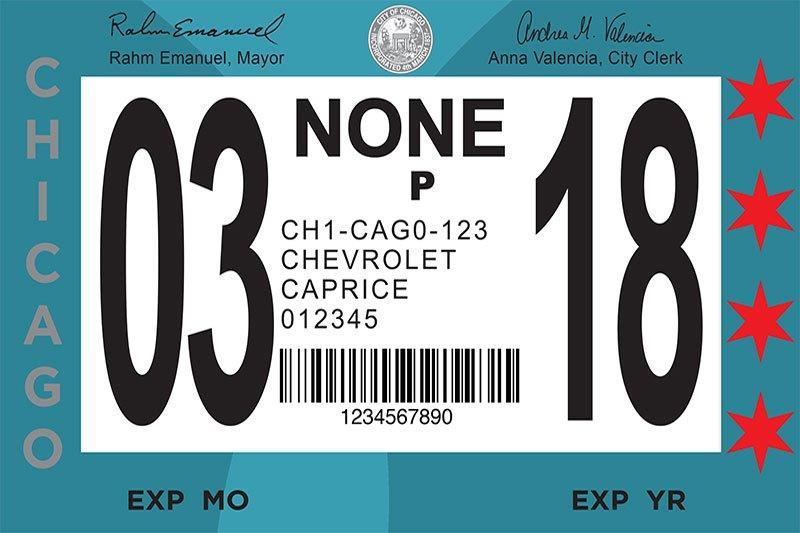 Penalties are high remember to renew your chicago city sticker