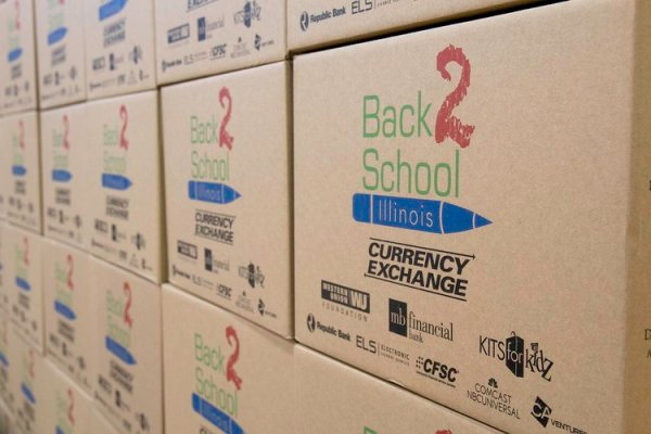 Back 2 School Illinois Helps Students Deliver over 6,000,000 Supplies! - Checkexpress