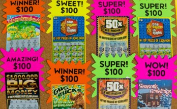Pennsylvania Lottery Winners Claimed More than $169 Million in Scratch-Off Prizes in October