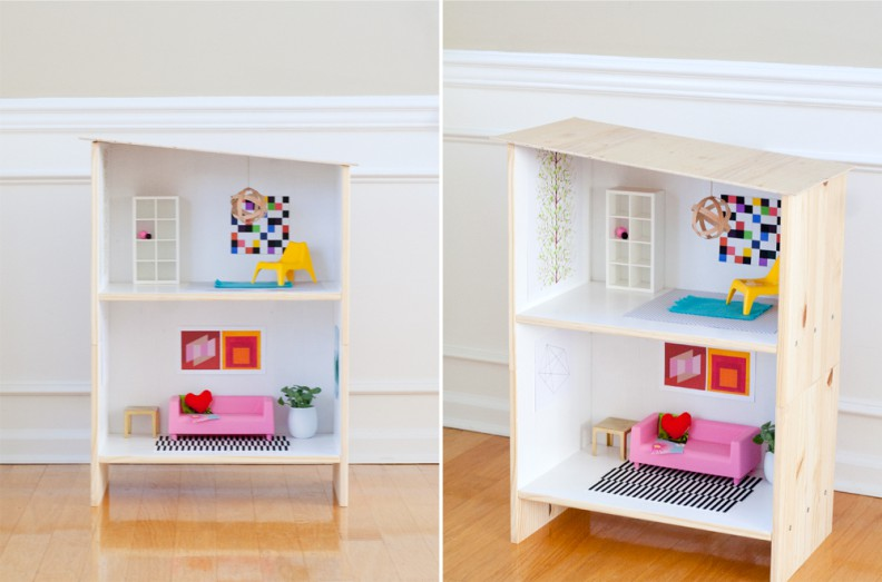Dollhouse de la table de chevet
