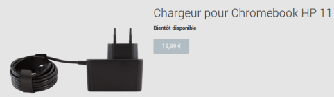 chargeur HP 11