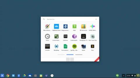 App Launcher centré