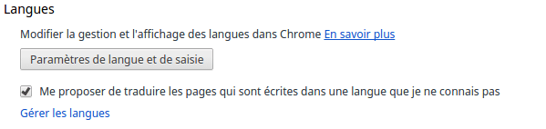 Google translate automatique