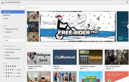 Chrome Web Store News