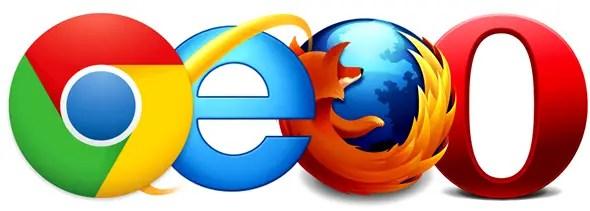 Chrome-IE-FF-Opera
