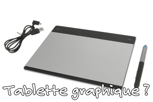 Tablette graphique et Chromebook