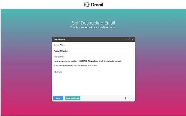 Dmail Extension