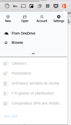 Ouvrir les fichiers Office sur CHromebook