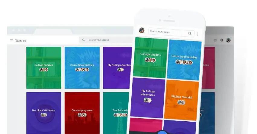 La messagerie Google Spaces débarque sur Chromebook
