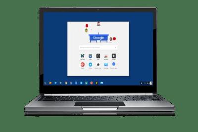 Le lanceur d'application Chrome OS évolution encore!