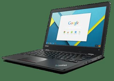 Lenovo communique sur le Google play Store dans ses Chromebooks