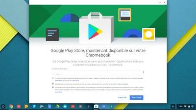 Installer le Google Plays Store D'android sur presque tous les Chromebooks