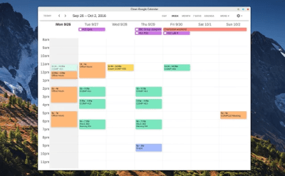 Visualiser Google Agenda via une application Chrome OS