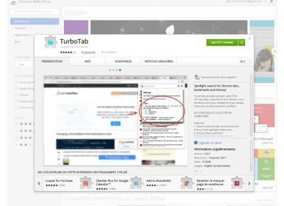 Gérer, trier et retrouver ses onglets avec l'extension Chrome : TURBO tab