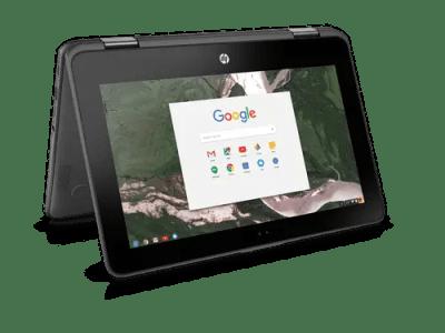 Google annonce le chromebook HP X360 11 G1