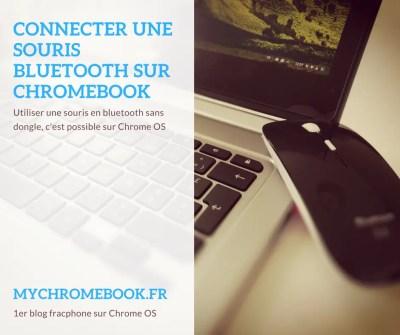 Comment connecter une souris bluetooth sur Chromebook