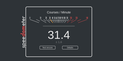 Calculer la performance de votre Chromebook avec Speedometer