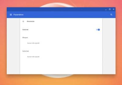 Comment activer le bloqueur de publicités intégré de Chrome sur un Chromebook