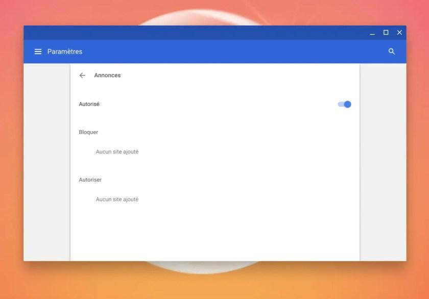 Comment Activer Le Bloqueur De Publicites Integre De Chrome Sur Un