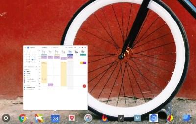 Afficher des aperçus d'applications en cours au survol de la souris sur l'étagère de ChromeOS