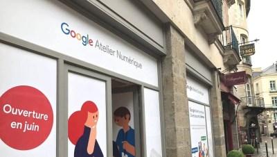 Le premier Atelier numérique de Google ouvre ses portes le 9 juin à Rennes