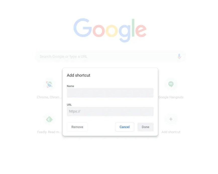 Comment ajouter des liens personnalisés sur la page nouvel onglet de Chrome