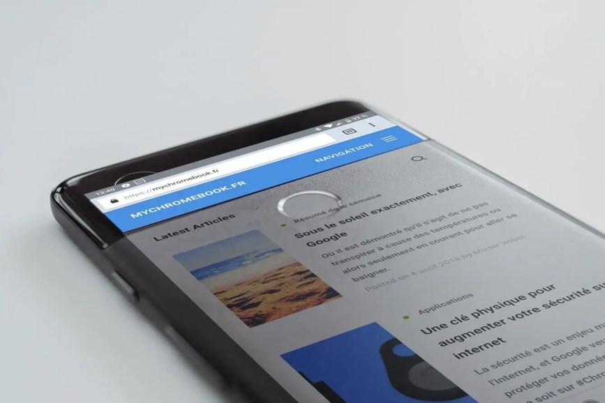 Votre smartphone peut protéger vos comptes Google