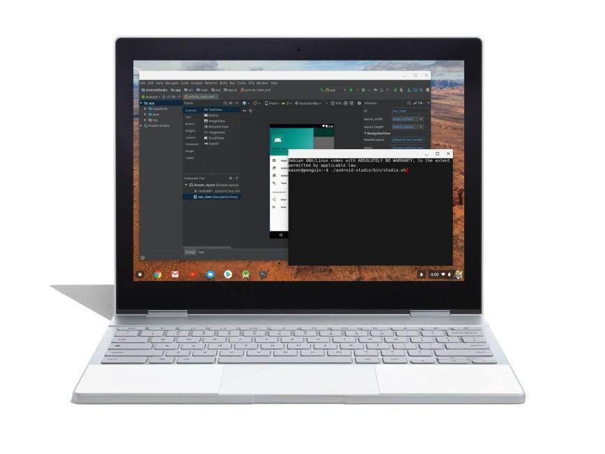 Android Studio sera bientôt officiellement pris en charge sur Chrome OS