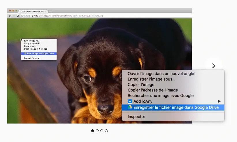 Enregistrer dans google drive : une extension Chrome Os indispensable